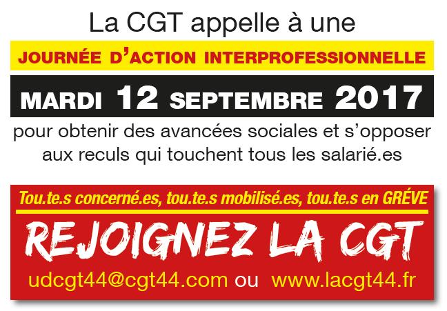 manifestation loi travail septembre 2017